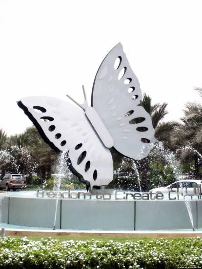 фонтан бабочка | Исмаил Шангареев