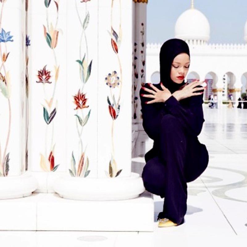 Исмаил Шангареев - фото Рианы в ОАЭ (2)