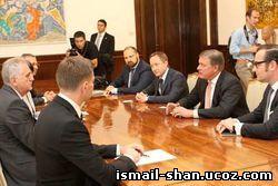 Шангареев Исмаил - Председатель совета директоров STADA AG Хартмут Ретцлафф