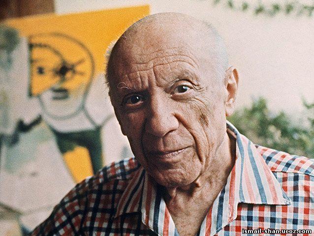 Исмаил Шангареев - портрет Пабло Пикассо