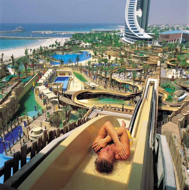 Исмагил Шангареев : Большой аквапарк в ОАЭ