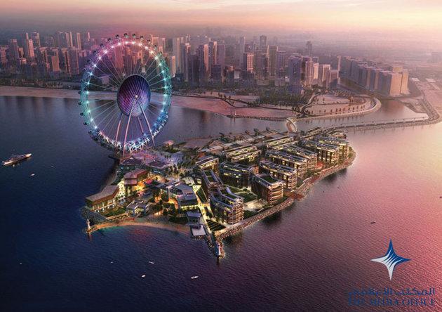Исмаил Шангареев : Проект Bluewaters ОАЭ