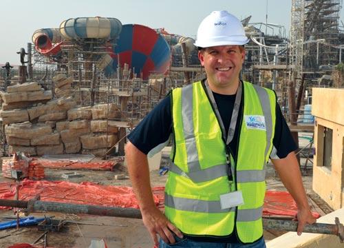 Исмагил Шангареев : Майк Освальд Менеджер аквапарка в Абу-даби