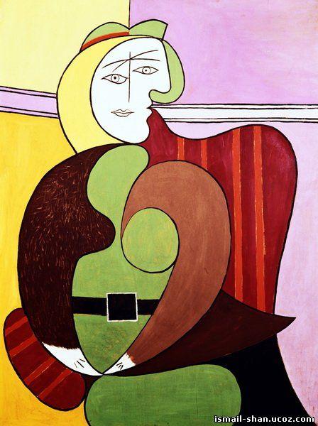 Исмаил Шангареев - Картина Пикассо Портрет Женщины