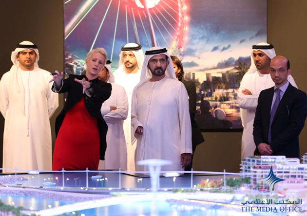 Исмаил Щангареев: Шейх Мохаммед Бин Рашид Аль Мактум, Вице-президент и Премьер-министр ОАЭ, недавно утвердил новый проект Bluewaters